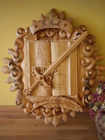 drevorezba od rezbára - symbol apoštola Pavla